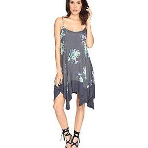 NWT! Free People Faded Bloom Slip Dress